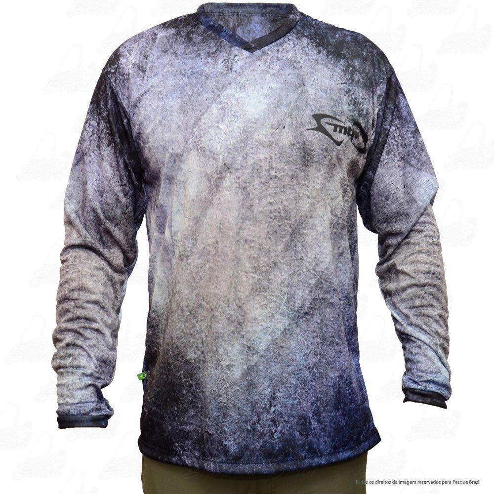 Camiseta de Pesca Mtk Attack com Proteção Solar Filtro UV Cor Pixe cf01abe1e774a