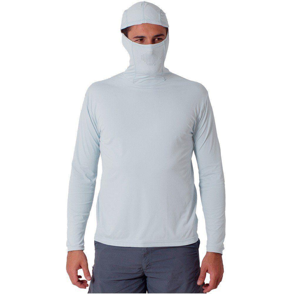 Camiseta Ballyhoo Ninja Cor Branca Com Filtro UV até 50 UPF Anti bacteriano  - PESQUE BRASIL 8bdf7b2c16fbc