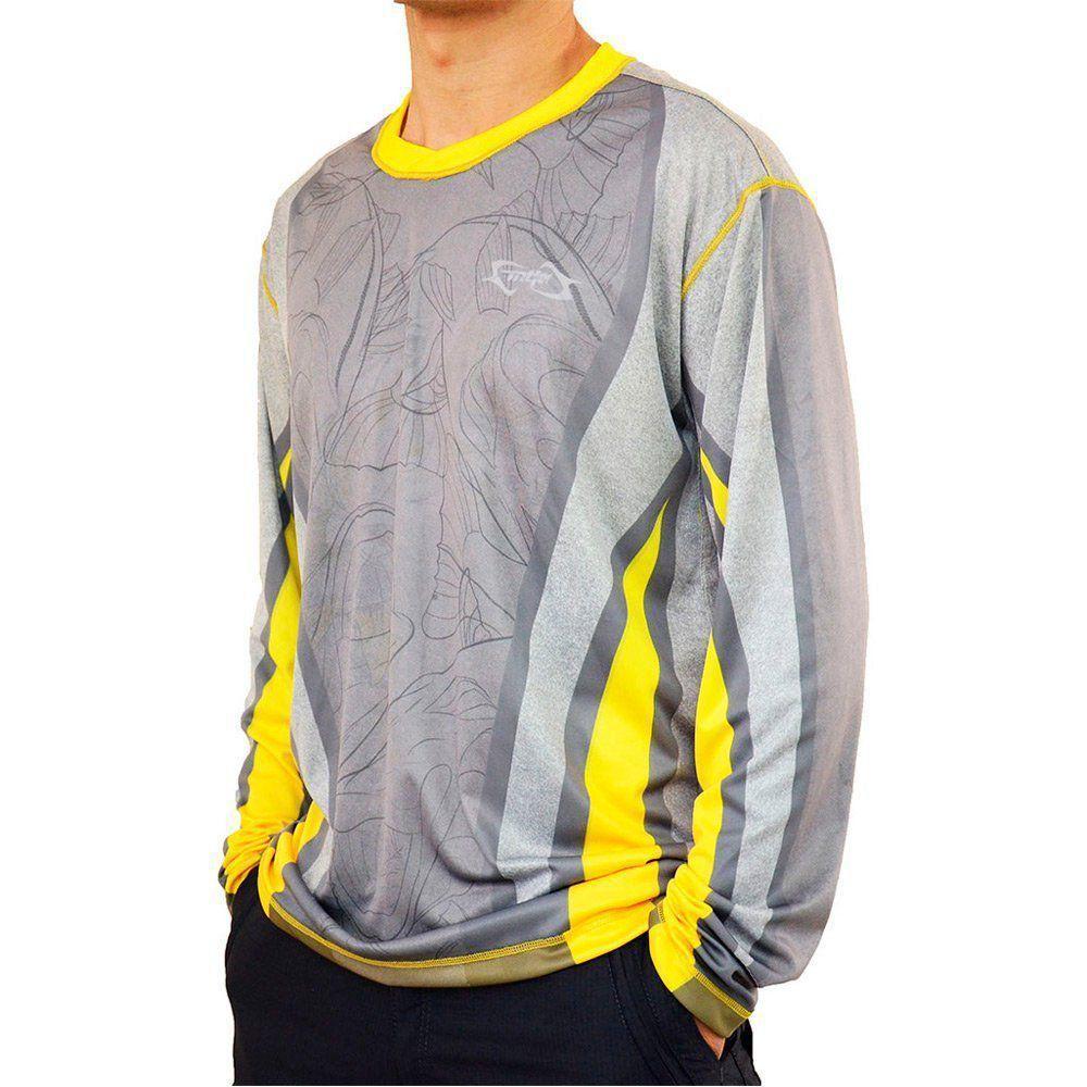 Camiseta de Pesca MTK Attack com Proteção Solar Filtro UV Cor Robalo I 9a7f51848c838