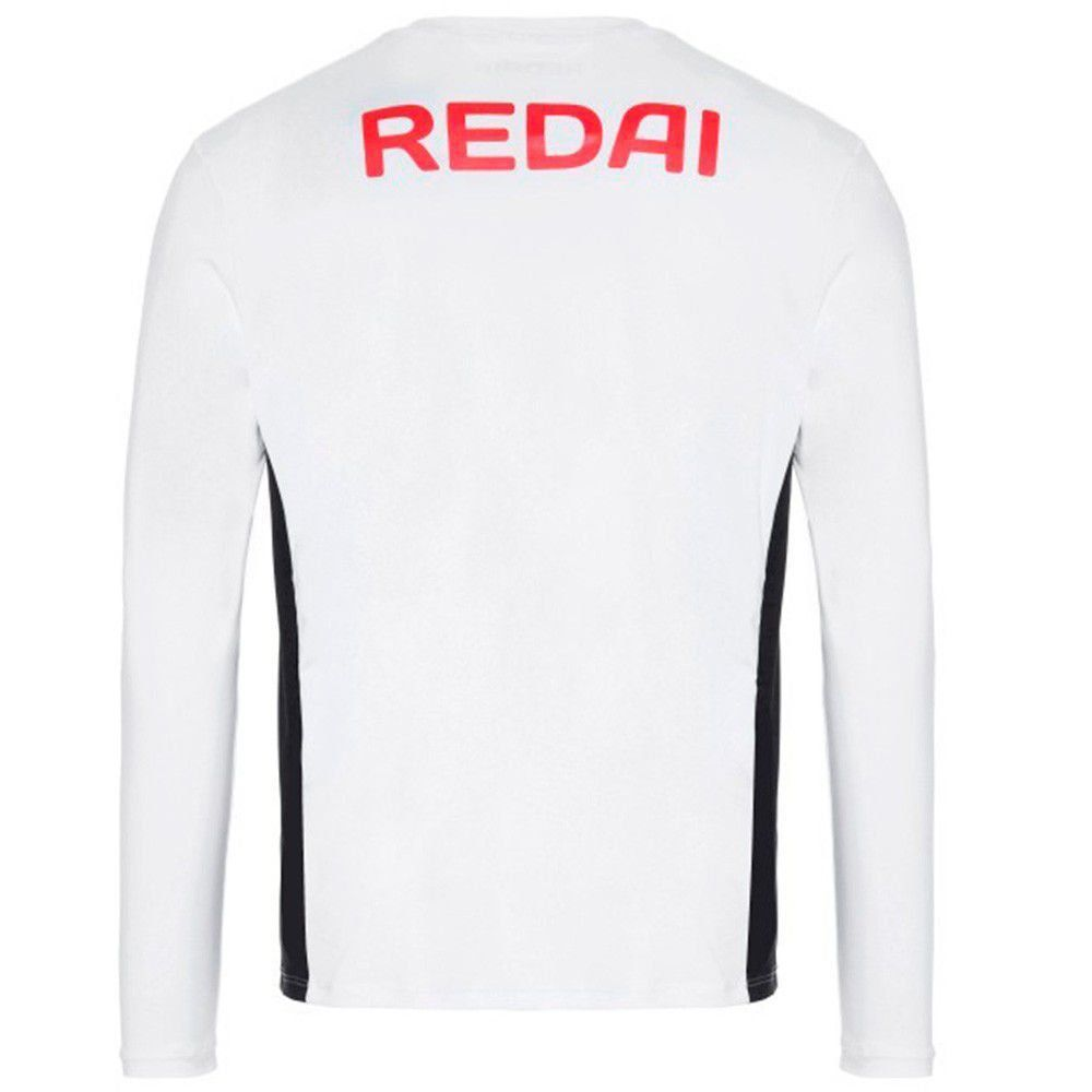Camiseta de Pesca Redai Masculina Alta Performance Team cor Branco