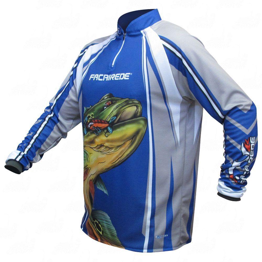 Camiseta de Pesca Shirts Tucunaré Old But Gold Faca na Rede Extreme Dry 2 com Fator de Proteção Solar UV 50 Tamanho PP