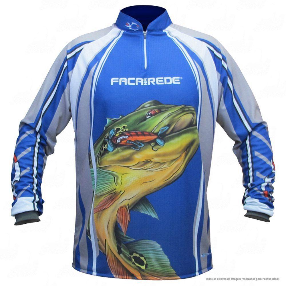 Camiseta de Pesca Shirts Tucunaré Old But Gold Faca na Rede Extreme Dry 2 com Fator de Proteção Solar UV 50 Tamanho M