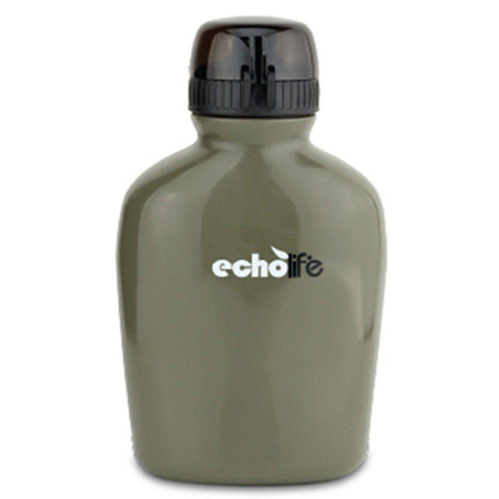 Cantil com Purificador de Água Verde Oliva 900ml em Plástico Echolife