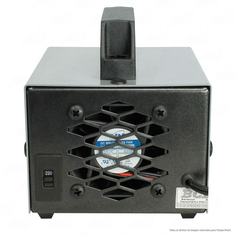 Carregador de Bateria Jogá 10 Amperes Hora 12V 110/220v