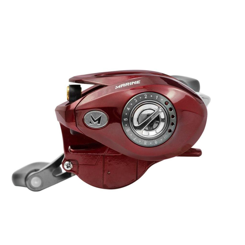 Carretilha de Pesca Brisa Lite GTO 8000 Modelo 2021 Perfil Baixo 8 Rolamentos