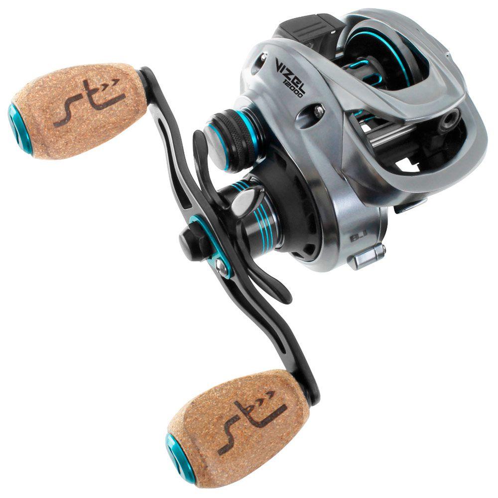 Carretilha de Pesca Saint Plus Vizel 12000 8.1:1 Drag 8kg