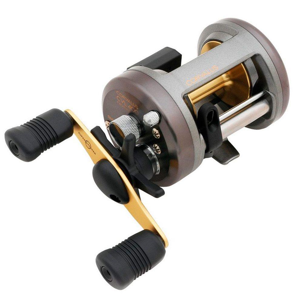 Carretilha de Pesca Shimano Corvalus 400 ou 401 GR 5.2:1 Drag 5kg