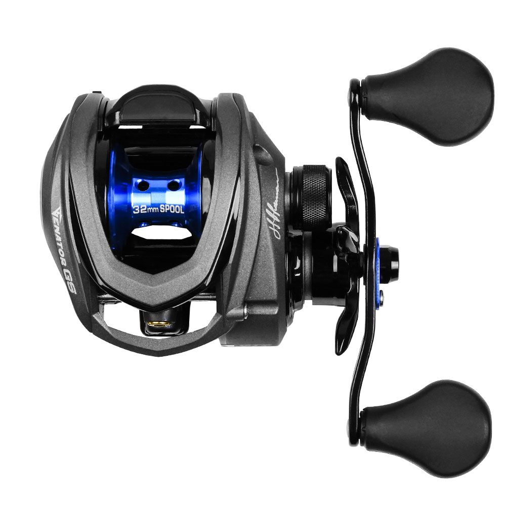 Carretilha de Pesca Venator GS Marine Sports By Johnny Hoffmann 6,3kg drag 7.5:1