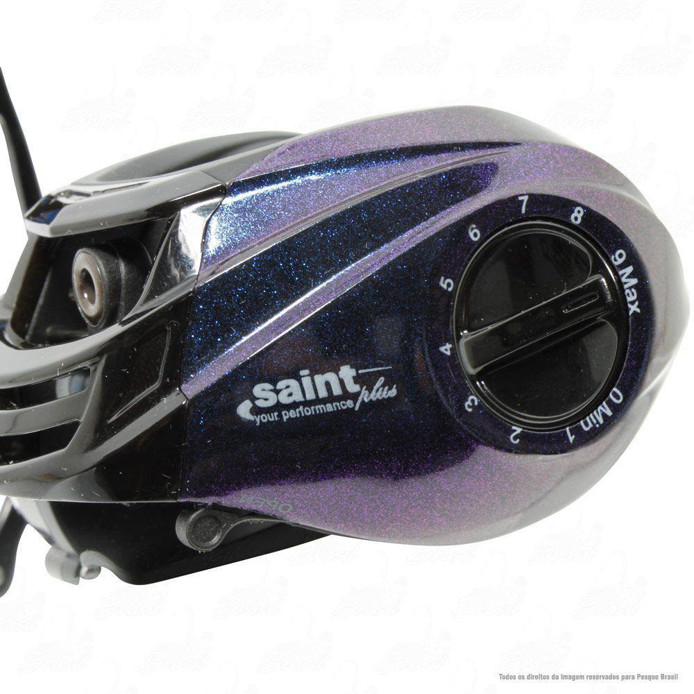 Carretilha Saint Plus Twister 10000 H Direita Recolhimento 7.2:1 Peso 192g 10 Rolamentos