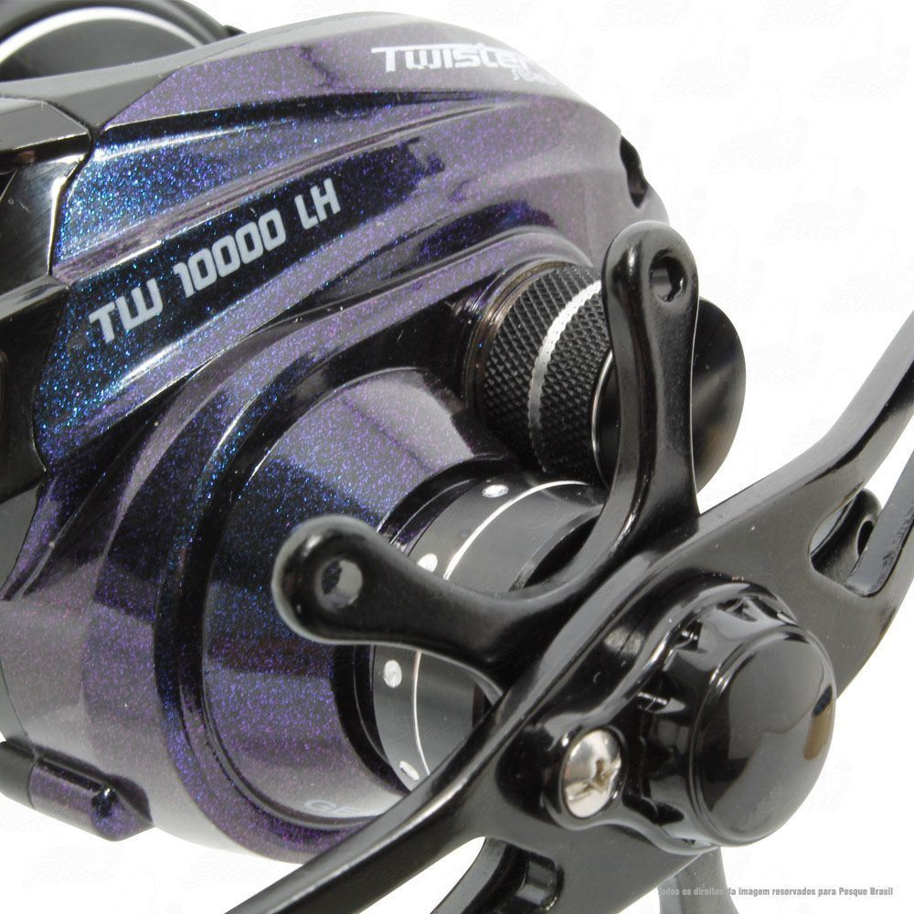 Carretilha Saint Plus Twister 10000 LH Esquerda Recolhimento 7.2:1 Peso 192g 10 Rolamentos