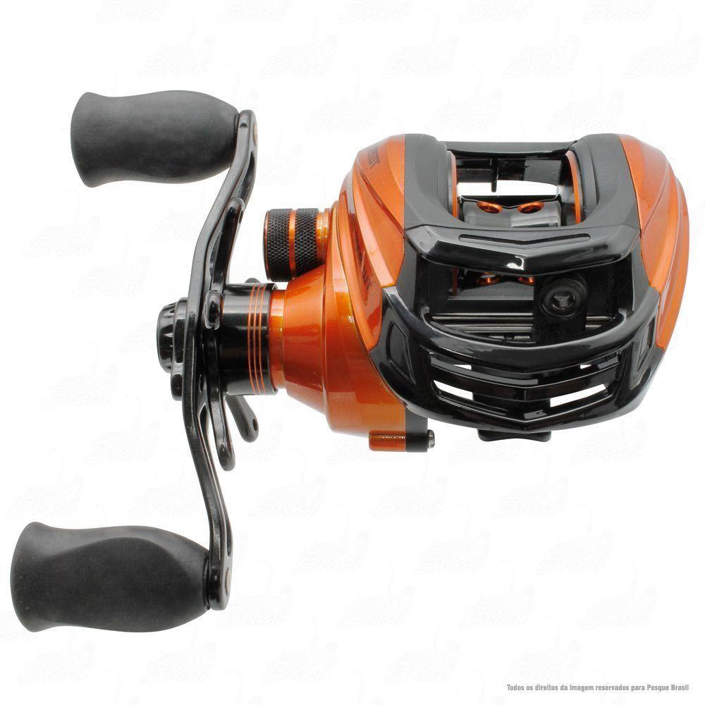 Carretilha Saint Plus Twister 8000 H Direita Recolhimento 7.2:1 Peso 205g 8 Rolamentos Baitcast