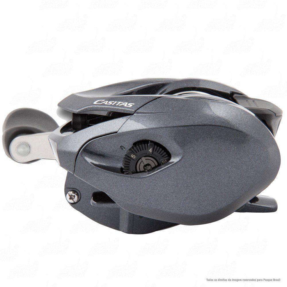 Carretilha Shimano Casitas 150 ou 151 HG Direita ou Esquerda