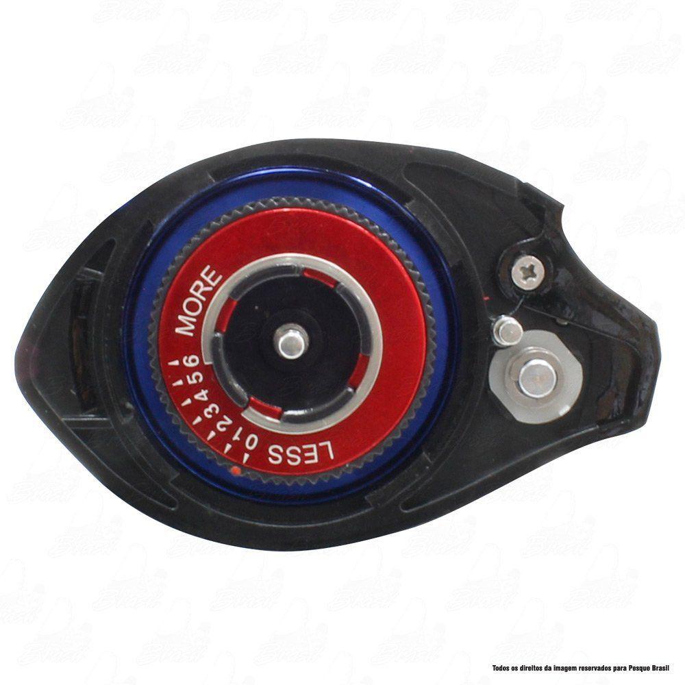Carretilha Twister Saint Plus Dual Brake 10000 LH Esquerda 7.2.1 Drag 4,5kg Peso 194g