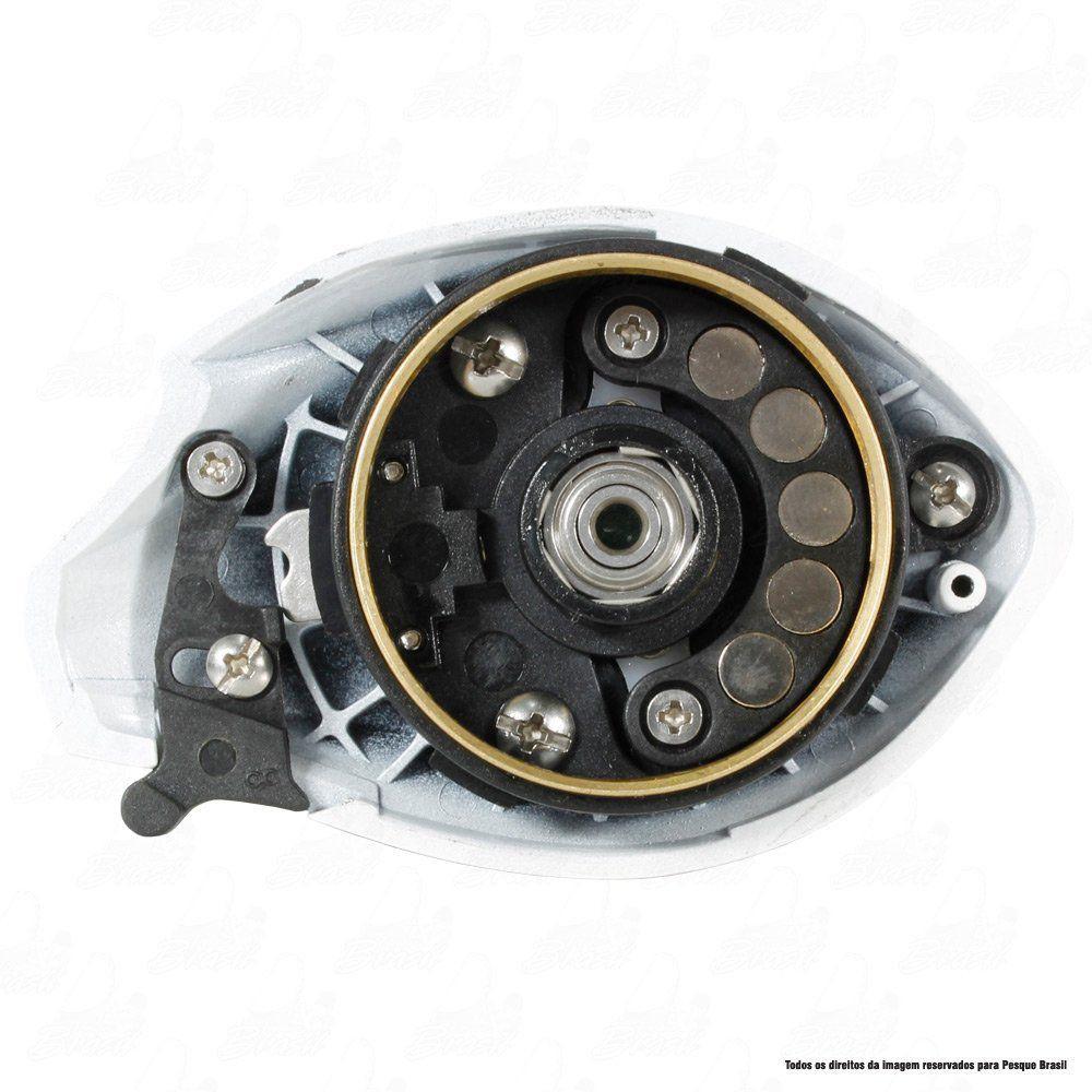 Carretilha Twister Saint Plus Dual Brake 6000 H Direita 7.2.1 Drag 4,5kg Peso 205g
