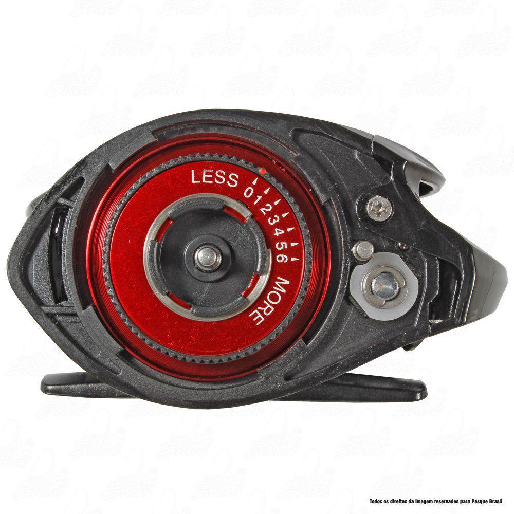 Carretilha Twister Saint Plus Dual Brake 6000 LH Esquerda 7.2.1 Drag 4,5kg Peso 205g