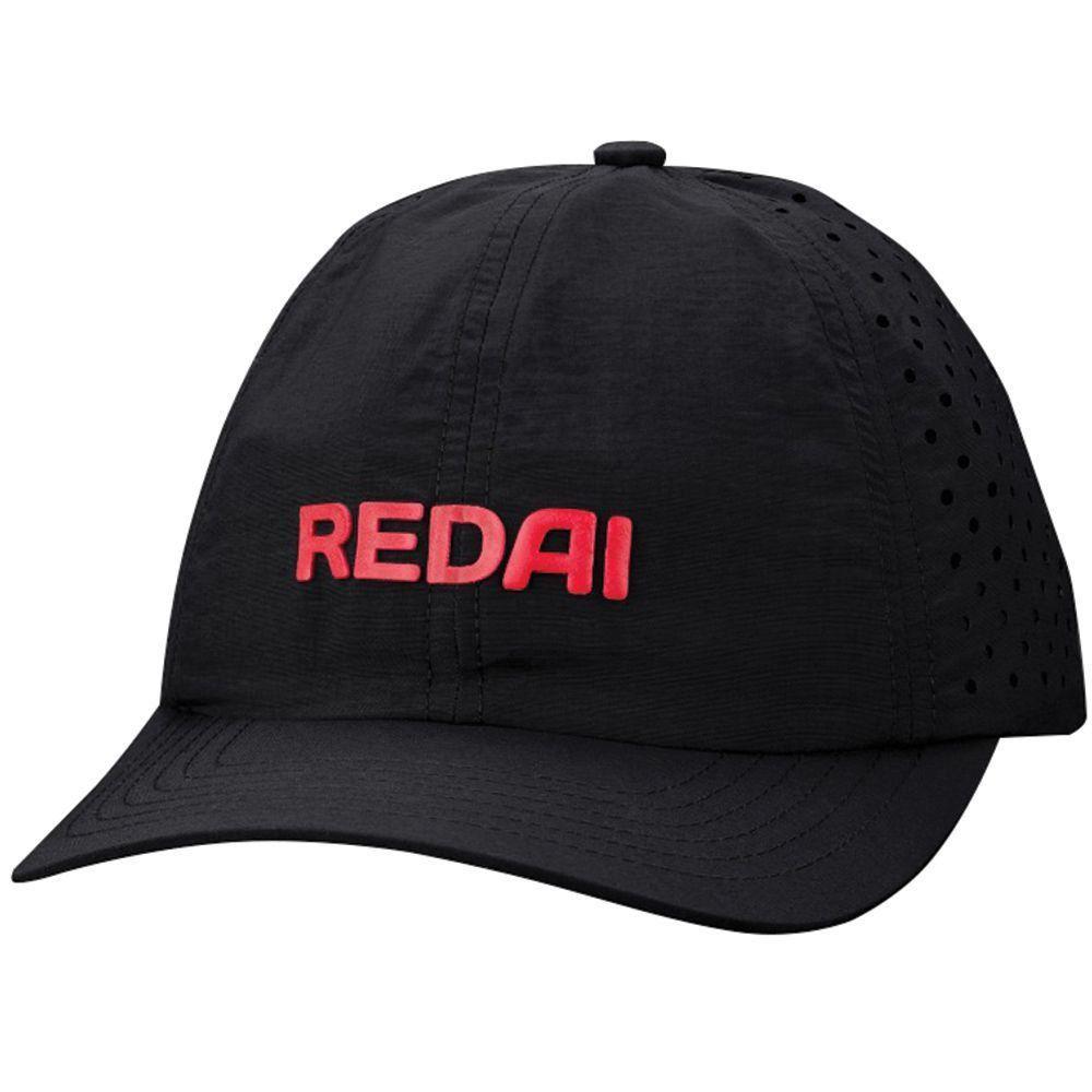 Boné Redai Preto Técnológico para Pesca Ajustável Material Poliéster - PESQUE  BRASIL ... 316246745e0