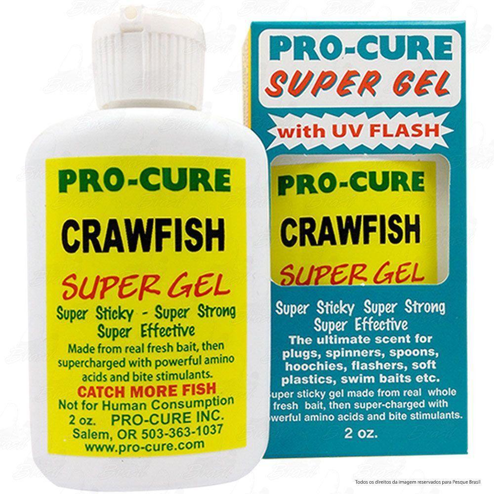 Essência para Iscas em Gel Pro Cure Sabor Atrativo Craw Fish ou Lagosta 2Oz 60ml