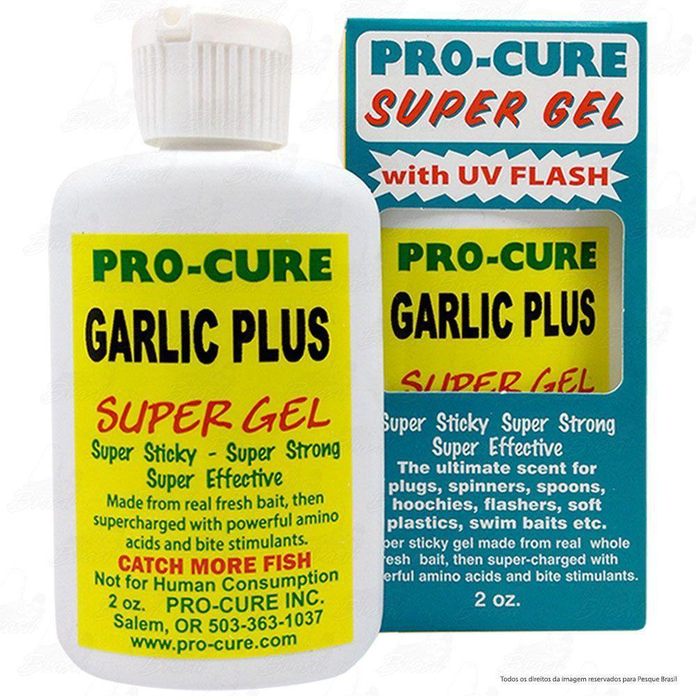 Essência para Iscas em Gel Pro Cure Sabor Atrativo Garlic Plus ou Alho 2Oz 60ml