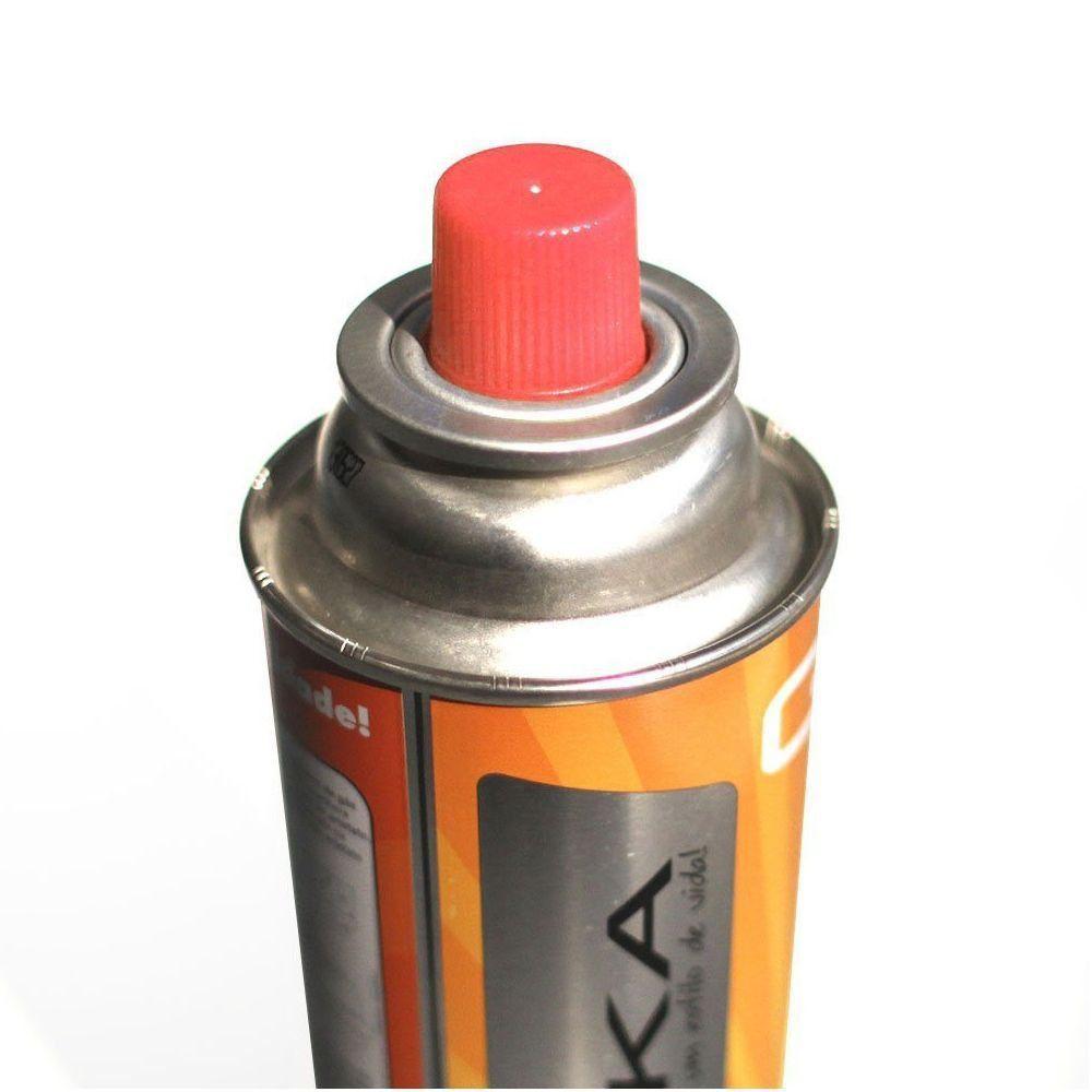Gás Campgás Nautika Refil para Fogareiros Peso Líquido 227g