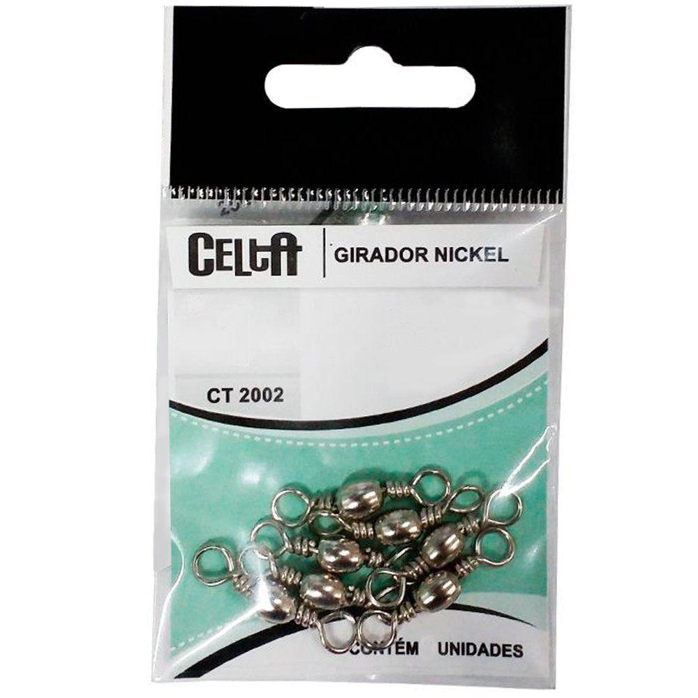 Girador Celta Simples Black CT1002 Nº05 67lb Cartela com 10un