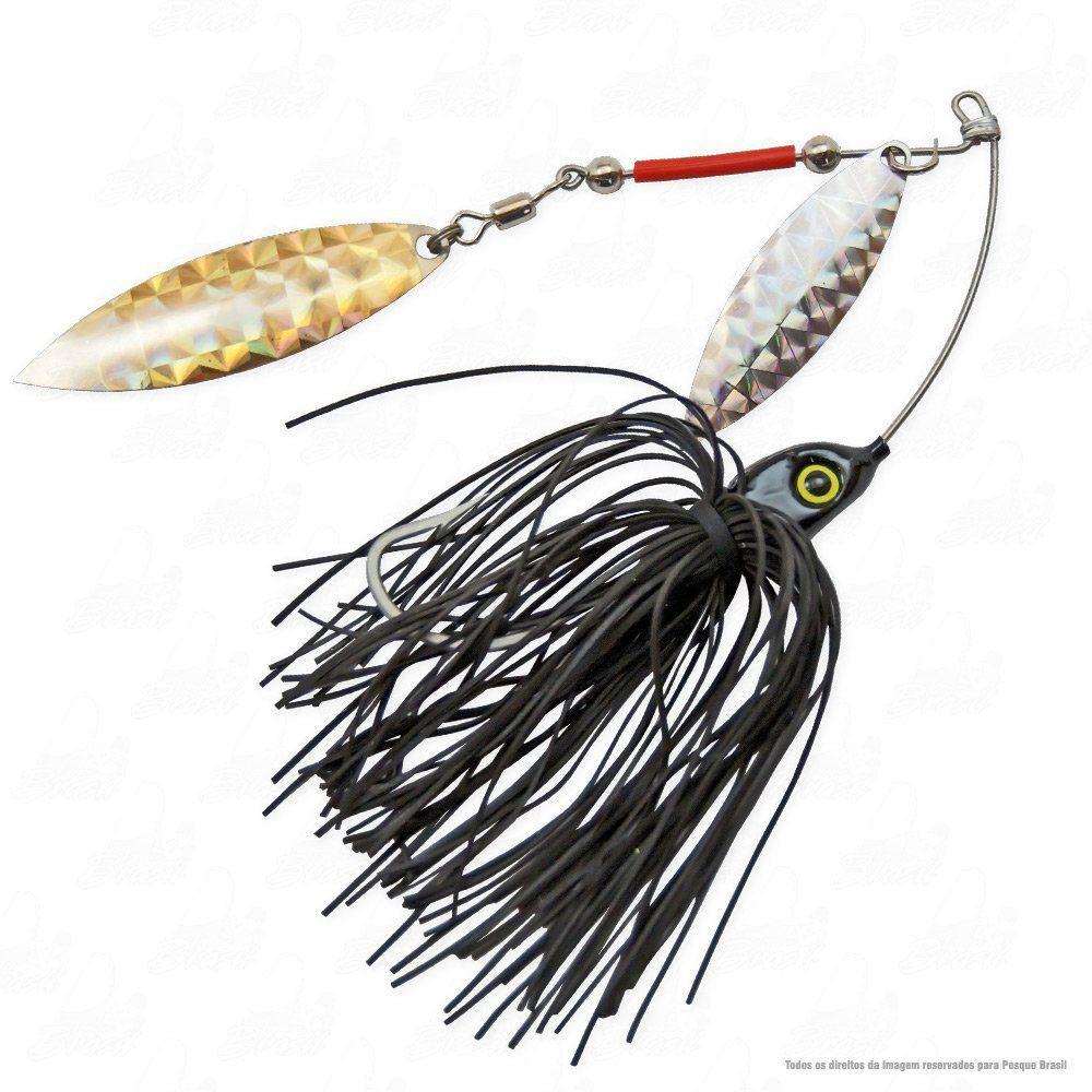 Isca Moro Deconto Spinner Bait 4/0 24g Cor 339 Preto