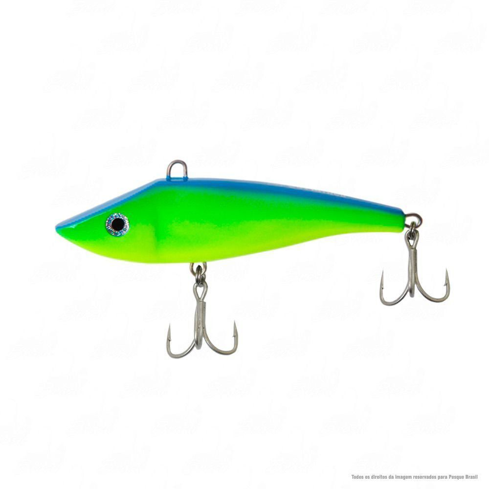 Isca Salminer Borboleta 11 cm Peso 32g Ação Sinking Cor 25 Verde e Azul Nado Meia Água