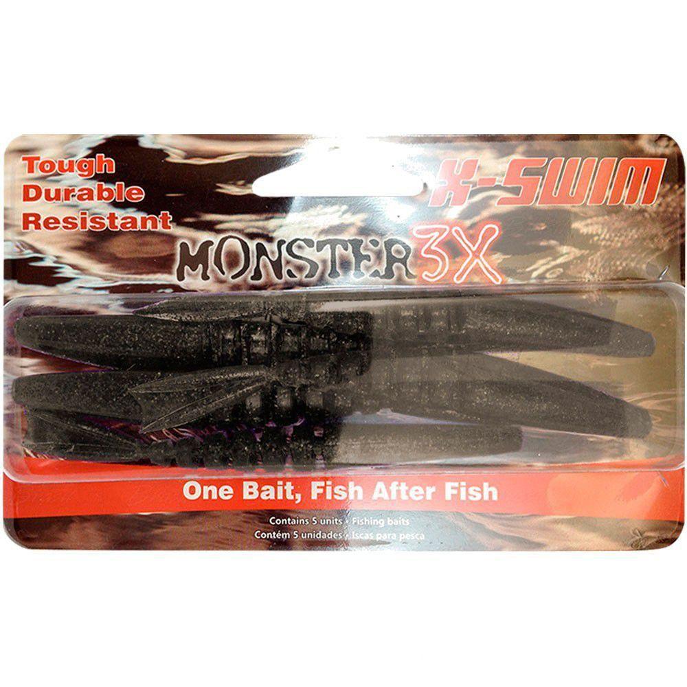 Isca Soft Monster 3x X-Swim 12cm Cor Cuia 004