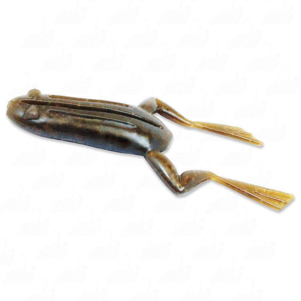 Isca Soft X-Frog Monster 3x Sapinho com 2 UN Cor 013 Forest Para Anzol Offset Para Traíras e Tucunarés
