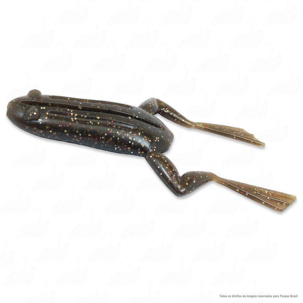 Isca Soft X-Frog Monster 3x Sapinho com 2 UN Cor 037 Natural Para Anzol Offset Para Traíras e Tucunarés