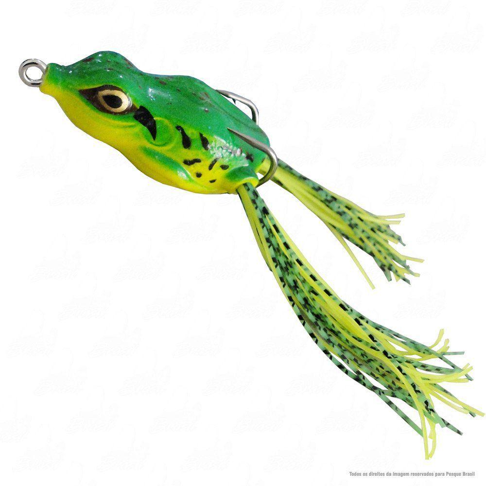 Kit de Iscas para Traíra com 3 unidades X- Frog Monster 3x + Crazy Frog Yara + Art Popper Marine Sports