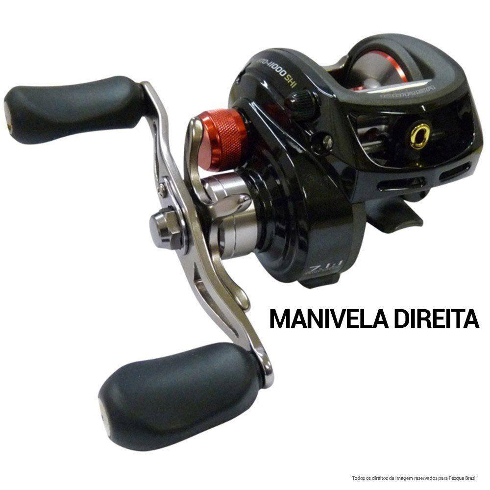 Kit Tucunaré Marine Sports - Carretilha Corsa 11.000 - Vara COX-C 561MH e Linha Vexter 0,25mm 25Lbs