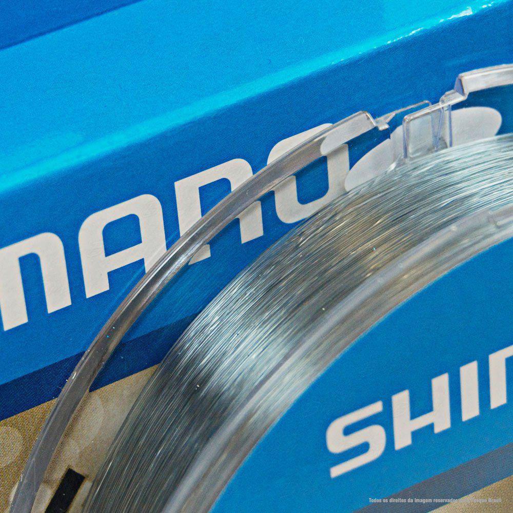 Linha de Pesca Shimano Exage Monofilamento Extra Forte 300m 0,305mm 7,5kg