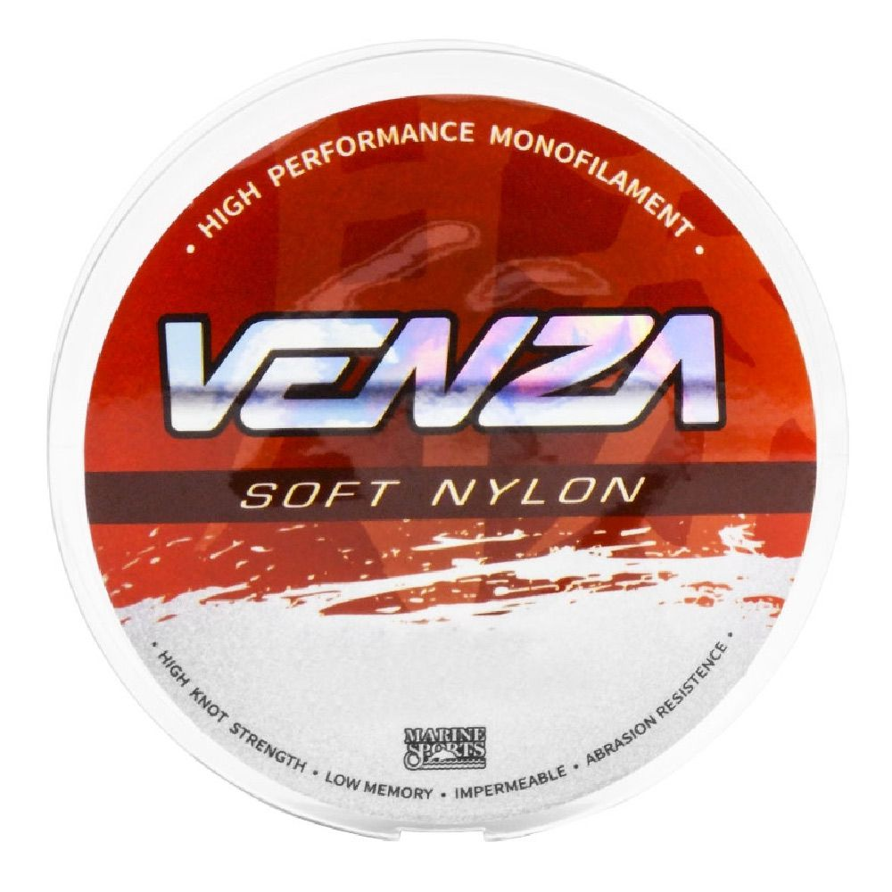 Linha Monofilamento Soft Nylon Venza Marine Sports 0,37mm 300m Cor Laranja