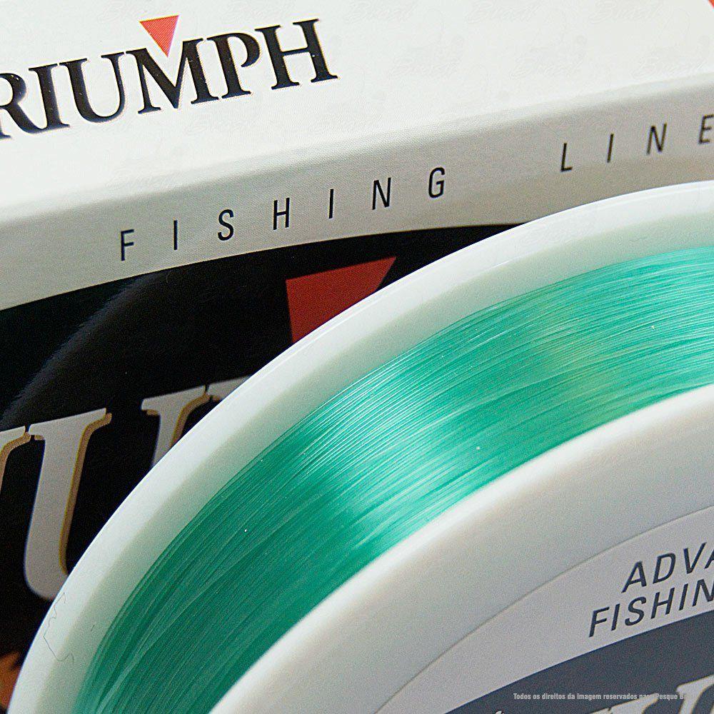 Linha Triumph Monofilamento Super Strong T&S Linesystem 0,449mm 30lb 15kg 300m
