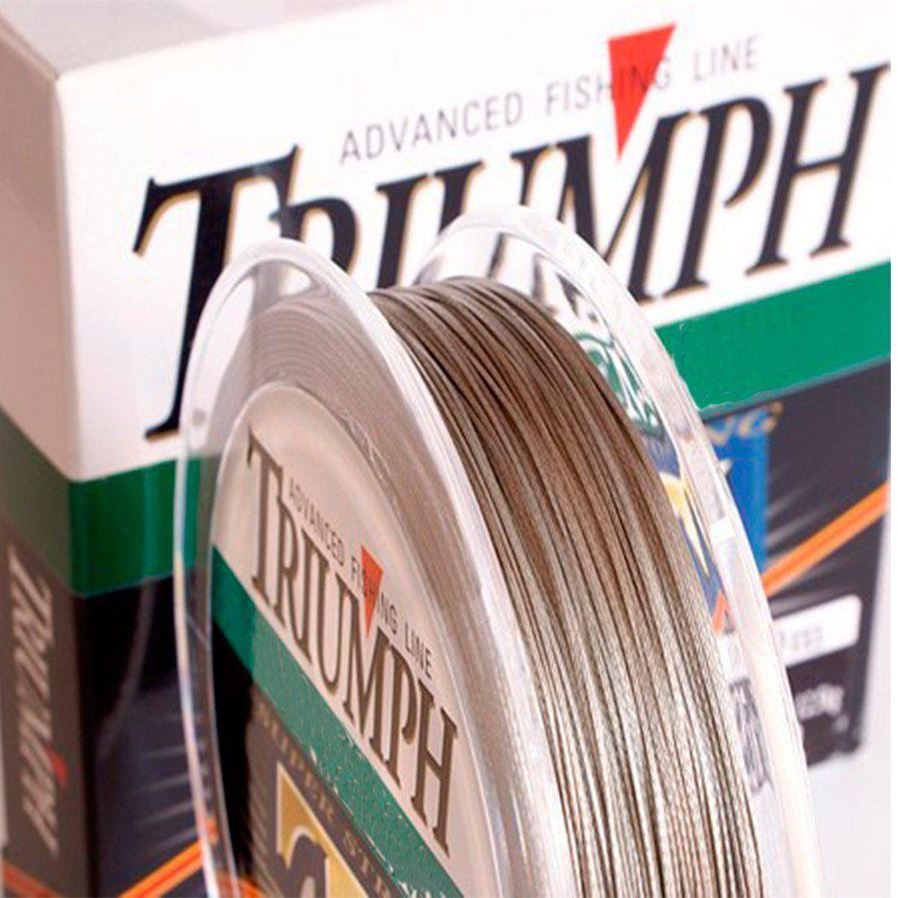 Linha Triumph Multifilamento Super Strong PE 0,19mm 20lb 10kg 150m