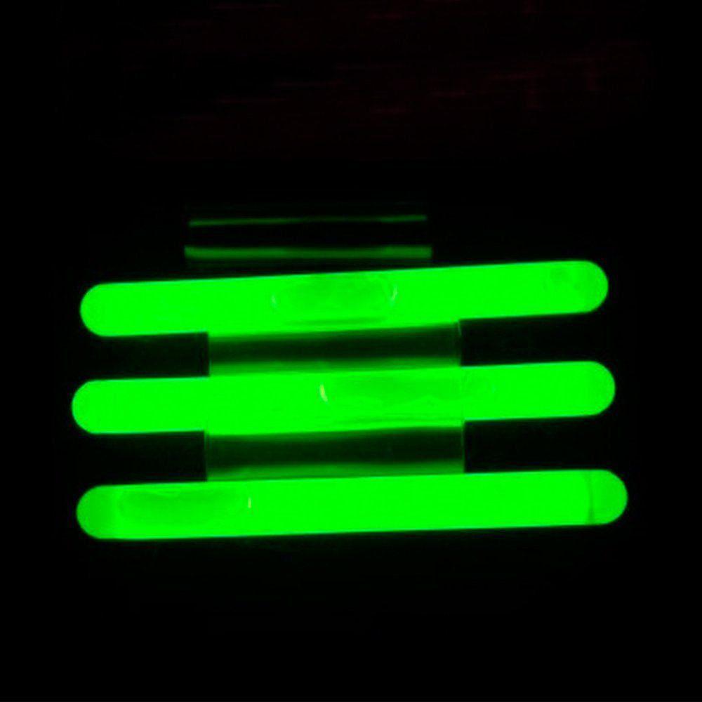 Luz Química Crown Ideal para Pesca Noturna Alcance 100m Duração 12h Cor Verde