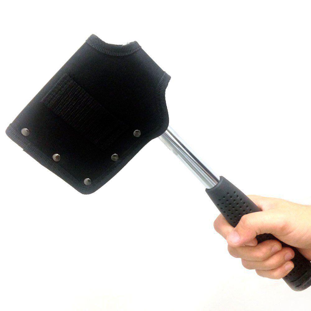 Machado Ntk Dan Em Aço Inox Com Cabo Antideslizante E Capa de Proteção do Fio