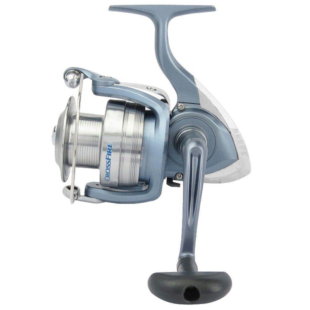 Molinete de Pesca Daiwa Crossfire 2500X 5 Rolamentos Fricção Dianteira
