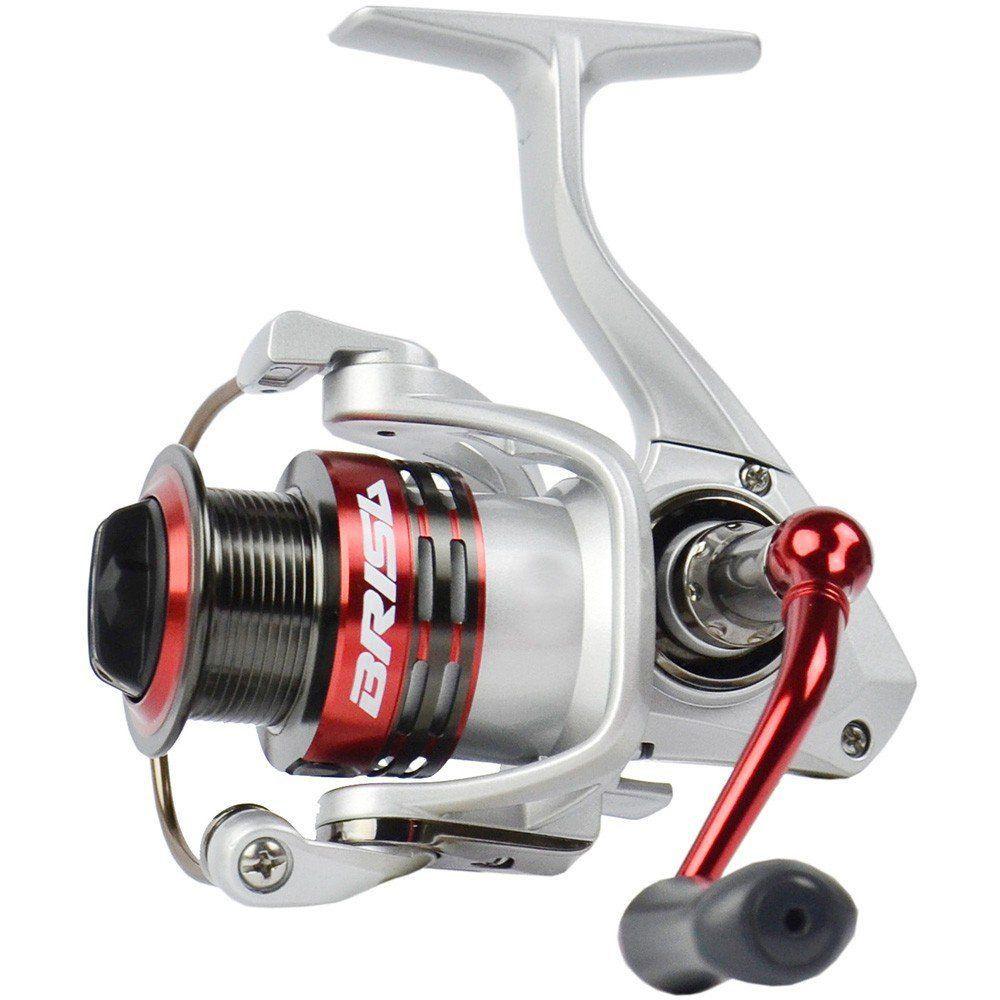Molinete de Pesca Marine Sports Brisa 3000 Drag 7,5Kg 6 Rolamentos Fricção Dianteira