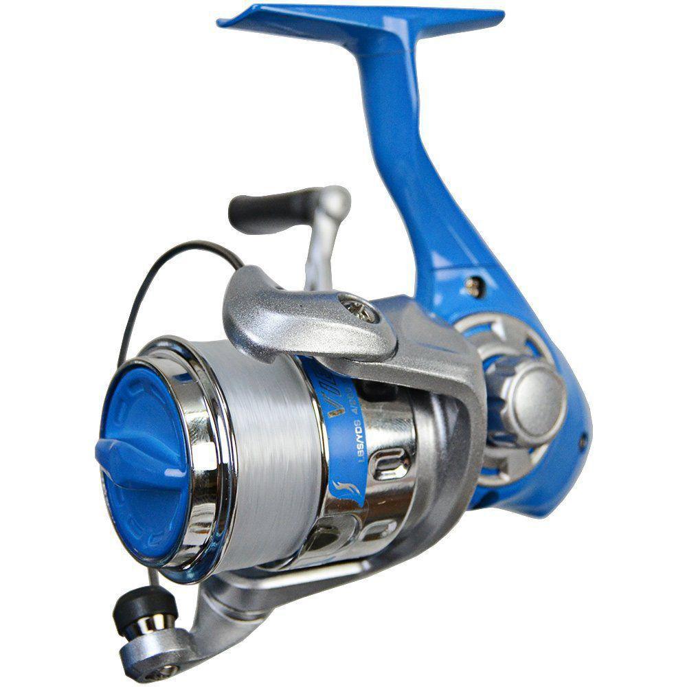 Molinete de Pesca Okuma Vibe 25 Com Linha Recolhimento 5.0:1 Várias Cores