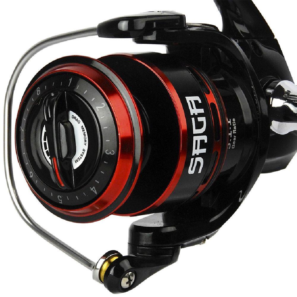 Molinete de Pesca Venza 3000 Marine Sports 5.1:1 Drag 6kg