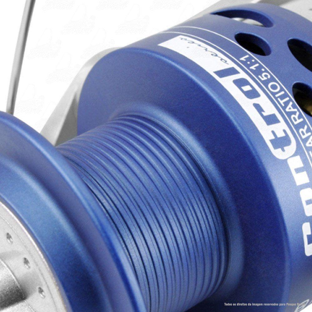 Molinete Saint Plus Control 4000 3 Rolamentos Recolhimento 5.1.1