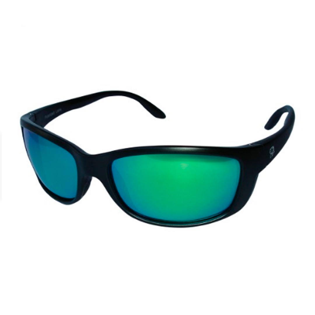 Óculos Polarizado Pro-Tsuri Mako P0034 Preto com Lente Verde Espelhada