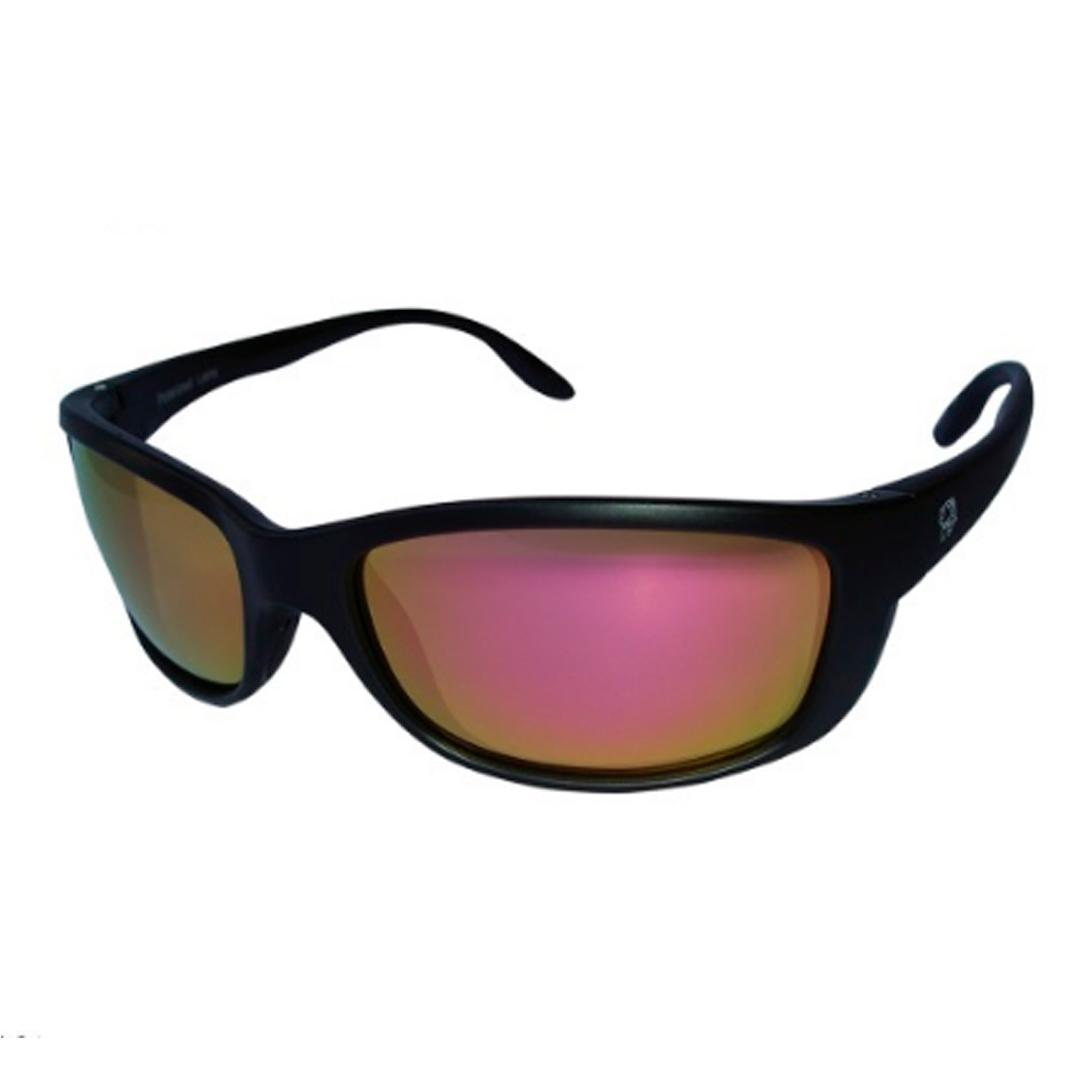 Óculos Polarizado Pro-Tsuri Mako P0035 Preto com Lente Gold Espelhada