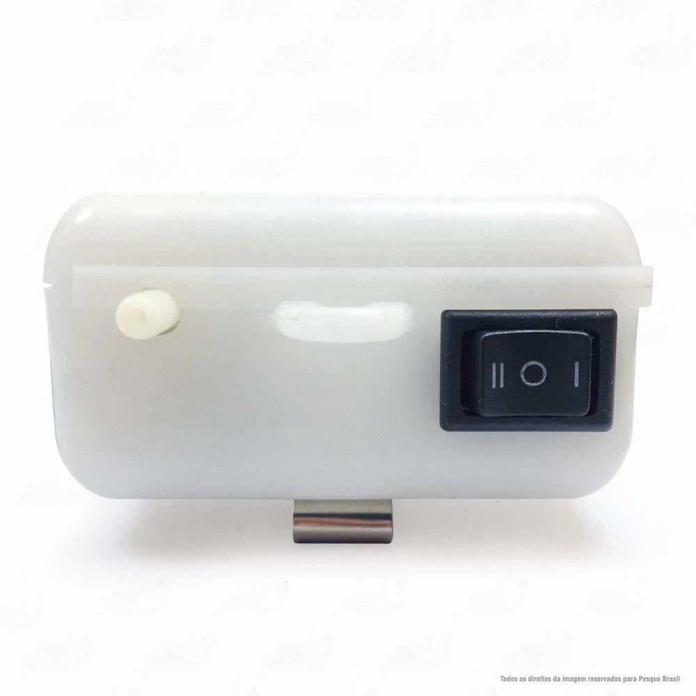 Oxigenador de Água Air Pump Crown AP 4502 2X Ideal para as Iscas Vivas