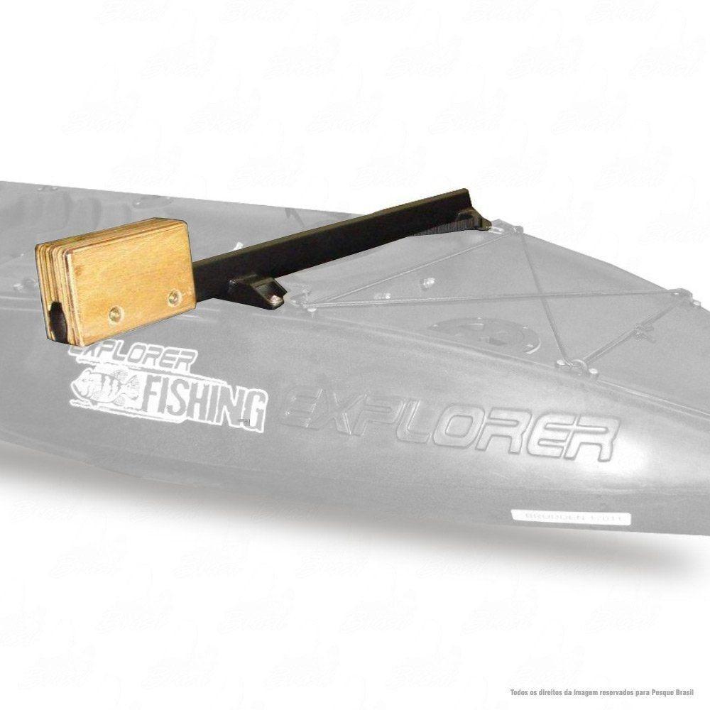 Suporte de Motor Elétrico para Caiaque Explorer Fishing Brudden Náutica