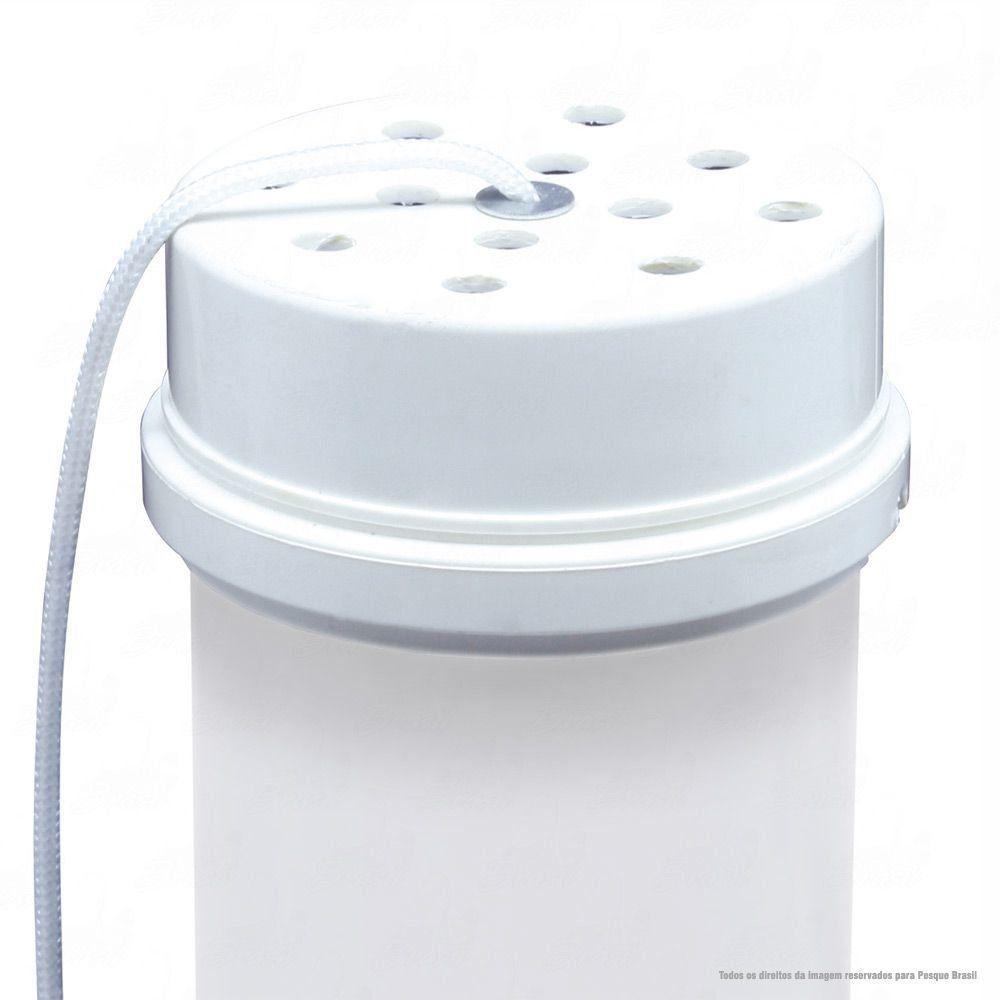 Tratador Cevador Jogá PVC 50cm de Altura Leve e Resistente com Suporte Fixador Lateral
