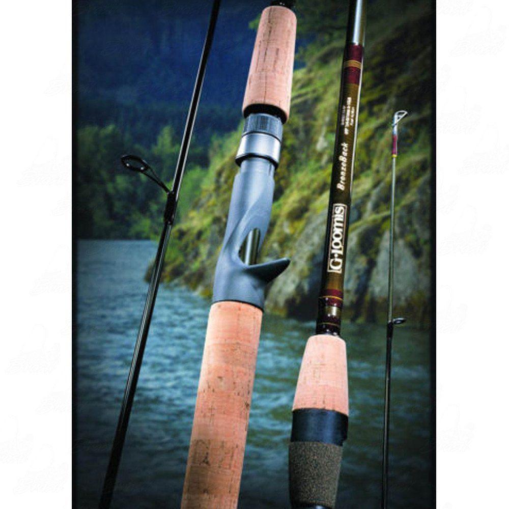 Vara de Pesca G. Loomis Bronzeback SMR 702 C-TW 1,77 m 10-17lb Potência Média Ação Rápida Inteiriça Carretilha