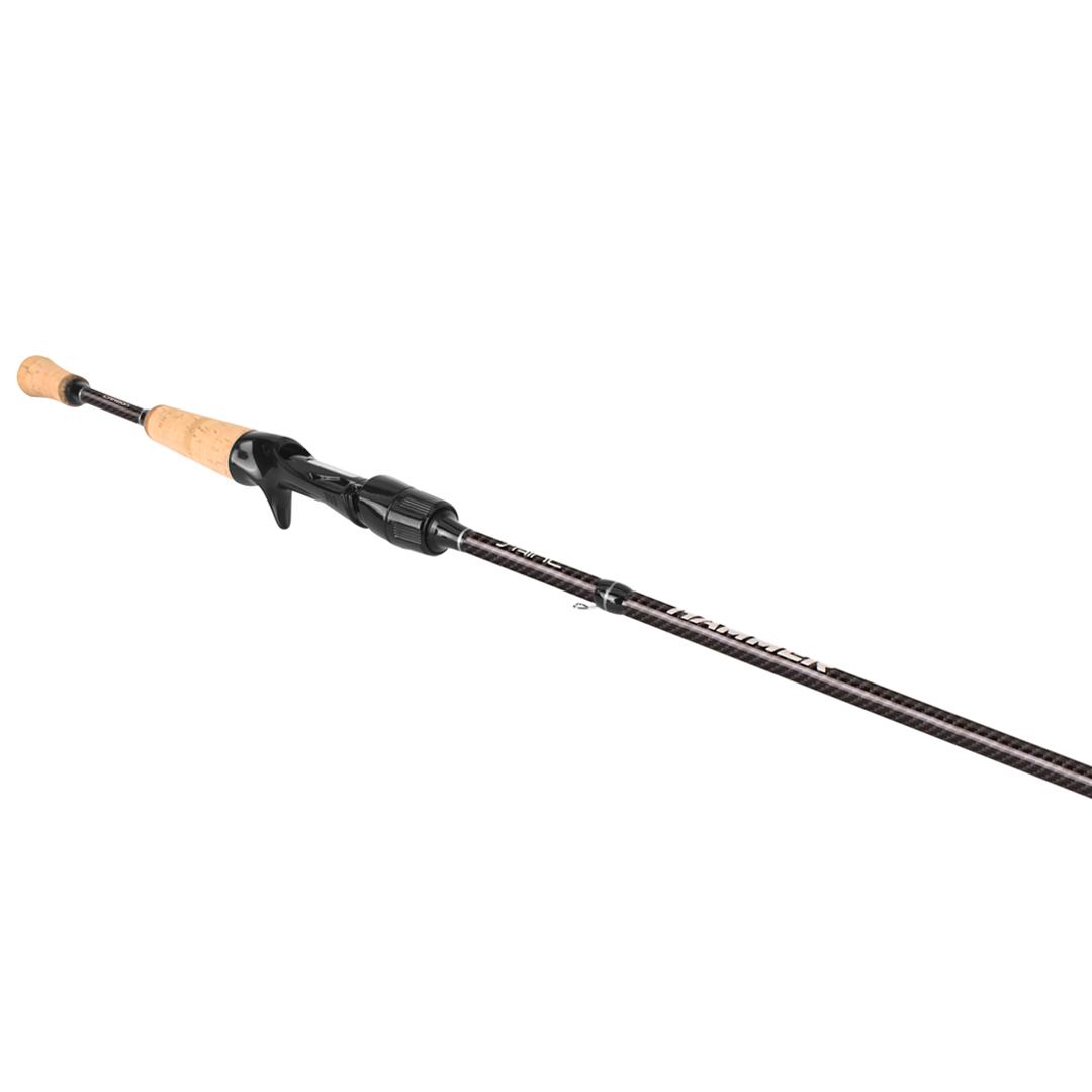 Vara de Pesca Saint Plus New Hammer 581-BC 7-17lbs 1,73m IM8 Para Carretilha Inteiriça