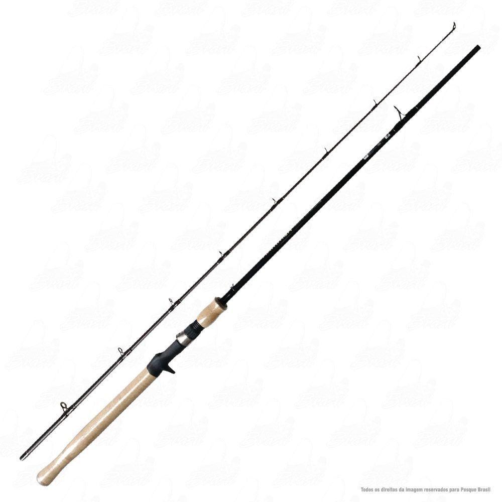 Vara Saintplus Hammer LBS 662 BC 6'6'' 1,98m Ação Rápida Potência Pesada 15-30lb Carbono IM8 Para Carretilha 2 Partes
